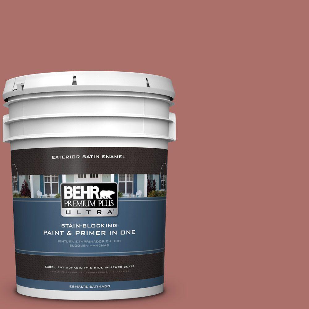 BEHR Premium Plus Ultra 5-gal. #PMD-81 Tandoori Spice Satin Enamel Exterior Paint