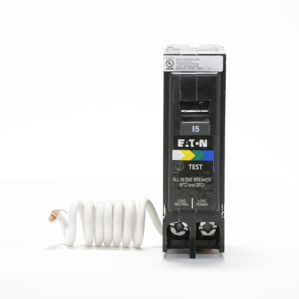 BR 15 Amp All in One AF/GF Breaker