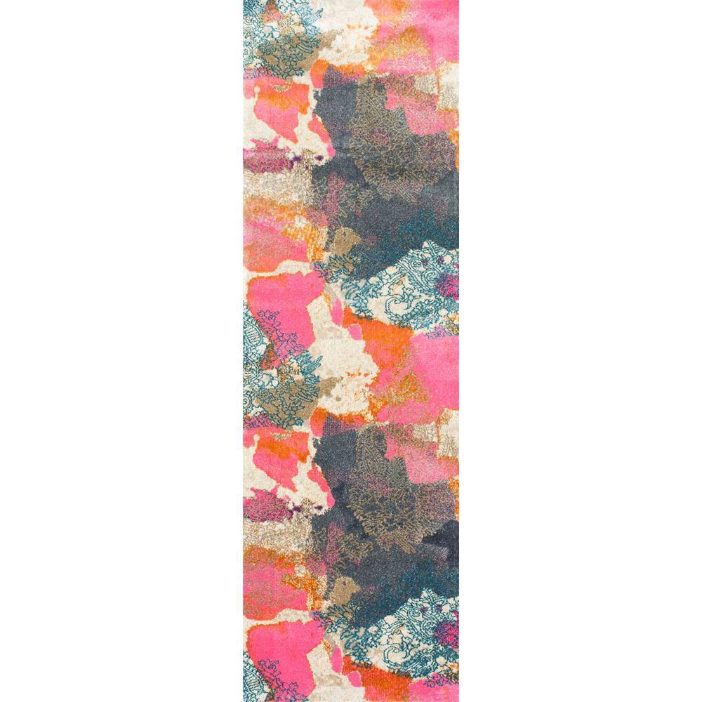 Gresham Pink 2 ft. 6 in. x 8 ft. Runner Rug