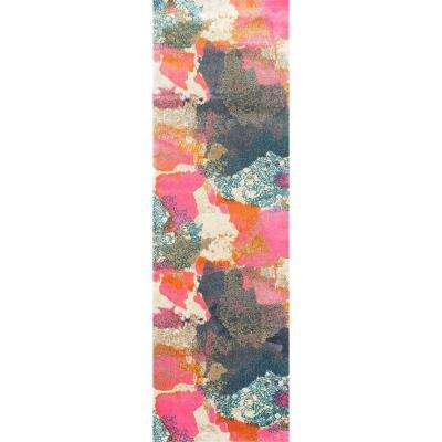 Gresham Pink 2 ft. 6 in. x 8 ft. Runner Rug