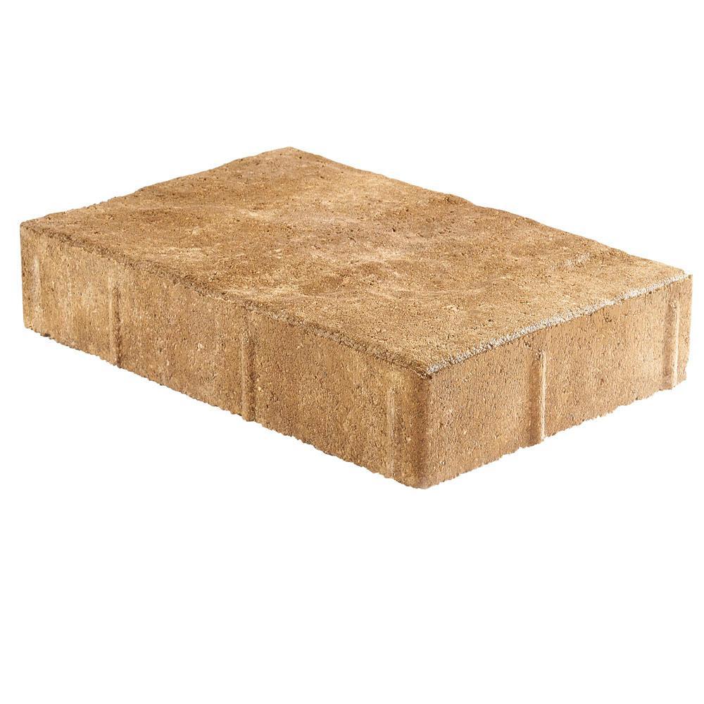Taverna Rec 11.81 in. L x 7.87 in. W x 1.9 in. H Sand Blend Concrete Paver (192-Piece/124 sq. ft./pallet)