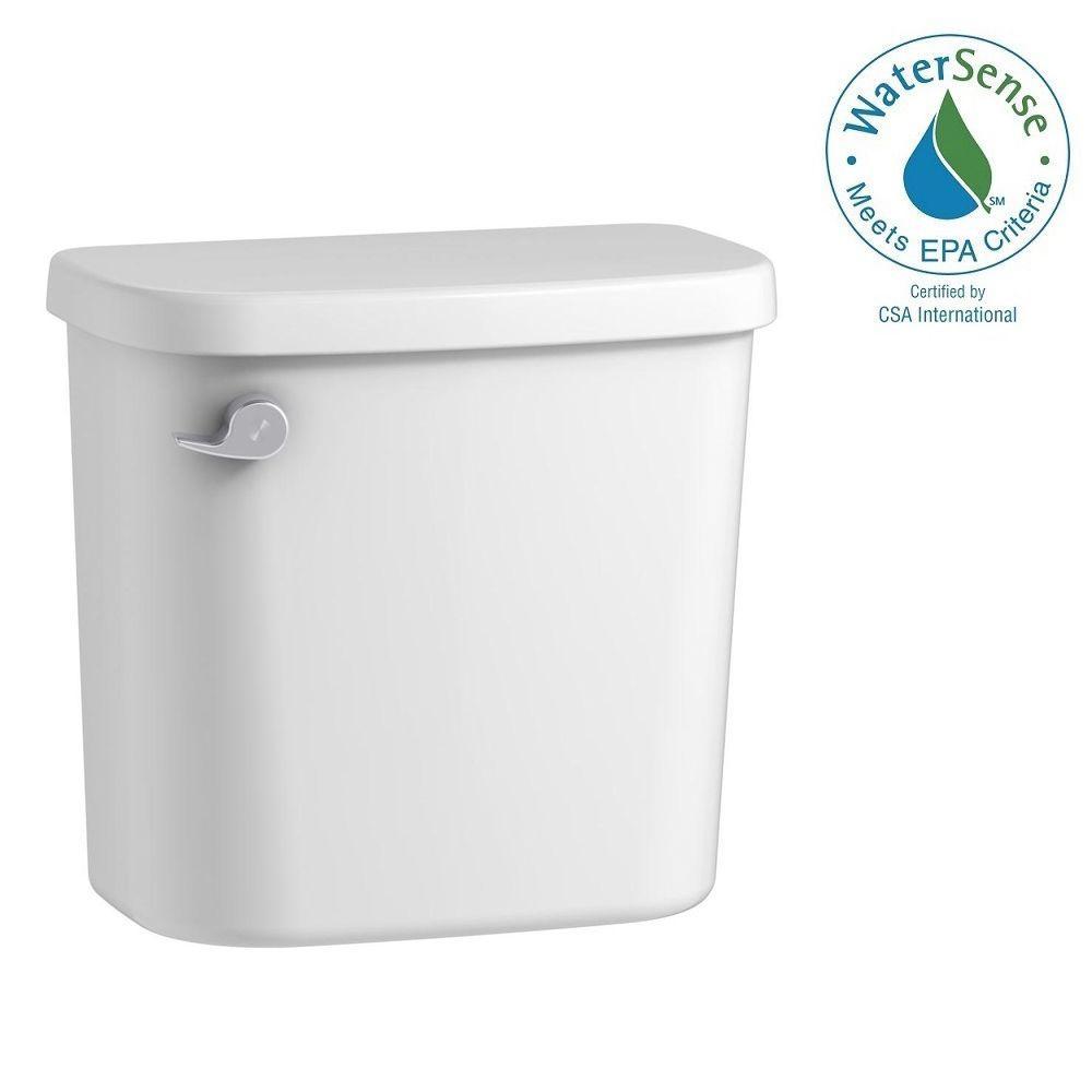 Windham 1.28 GPF Single Flush Toilet Tank Only in White