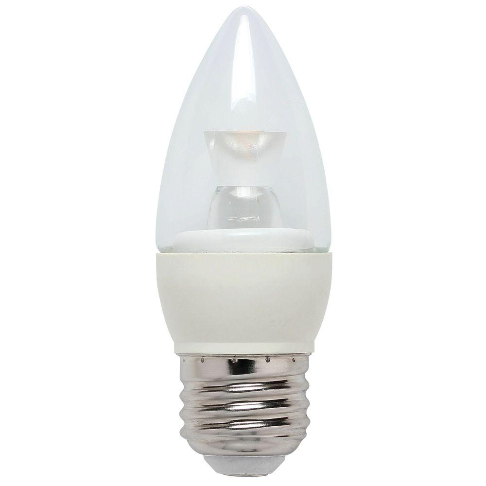 Light Bulb Home Depot: Westinghouse 25W Equivalent Bright White Torpedo B10