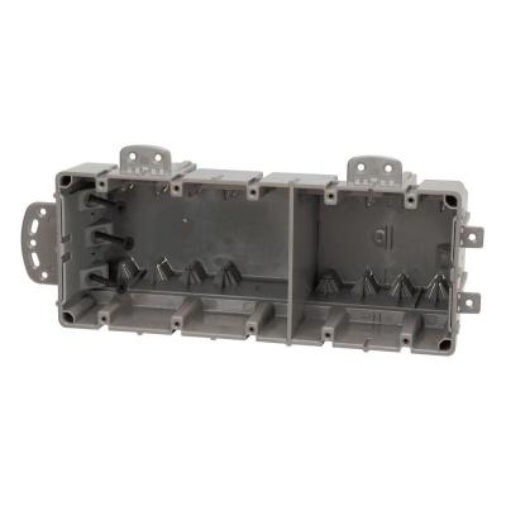 Smart Box 5-Gang Multi-Mount Adjustable Depth Device Box