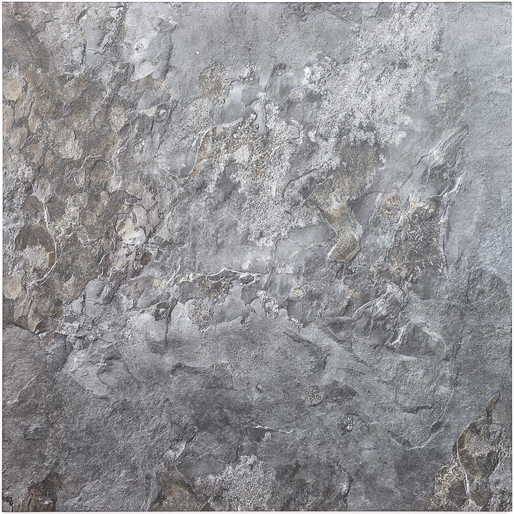 Ivy Hill Tile Bantame Blue Gray 24 in. x 24 in. x 10.5mm Semi-Polished Porcelain Floor and Wall Tile (3 pieces / 11.83 sq. ft. / box)