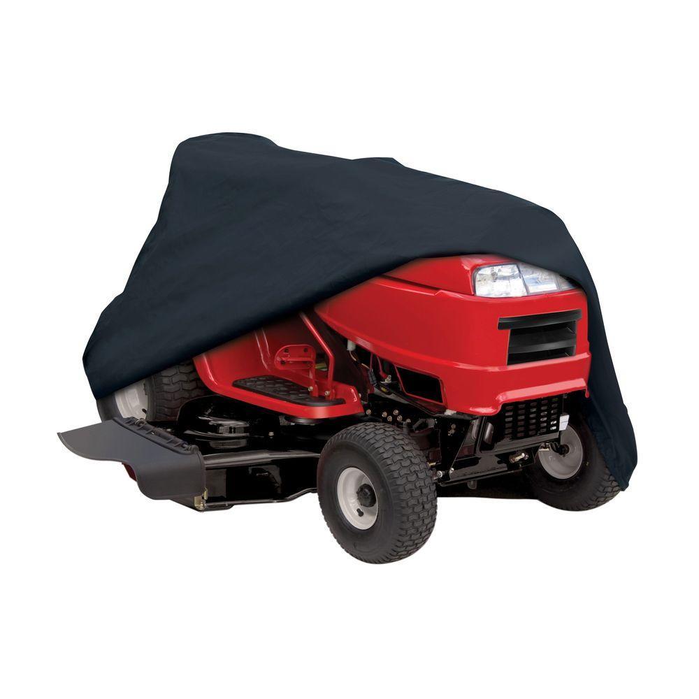 Classic accessories lawn tractor cover 55 081 010401 00 for Lawn garden accessories
