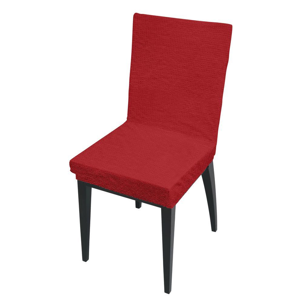 Hampton Bay Edington Burgundy Patio Lounge Chair Slipcover