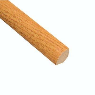 Tacoma Oak 3/4 in. Thick x 3/4 in. Wide x 94 in. Length Laminate Quarter Round Molding