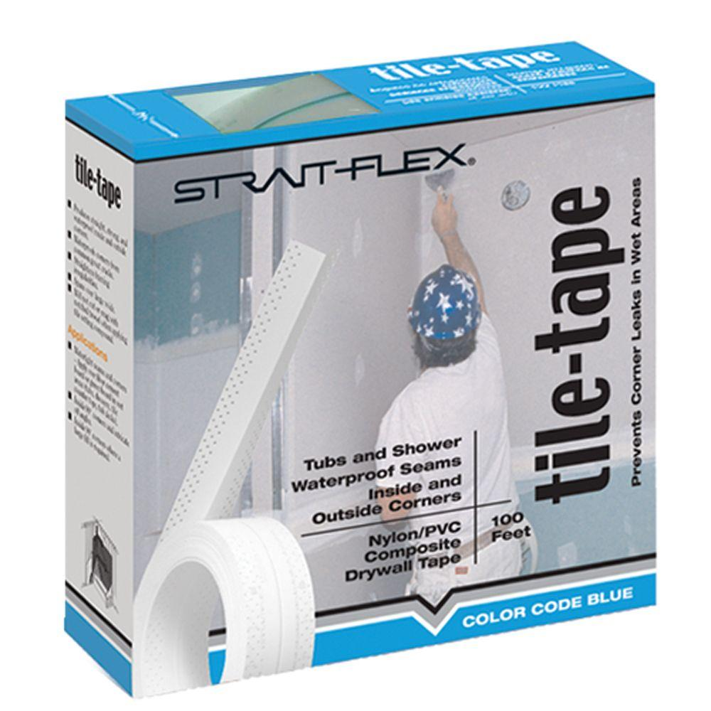 Strait-Flex 2-1/4 in. x 50 ft. Tile-Tape Composite Joint Tape T-50-6 ...