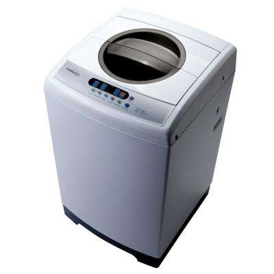 top load washer in silver