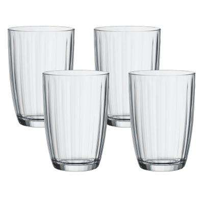 Artesano 14-1/2 oz. Clear Small Tumbler (4-Pack)