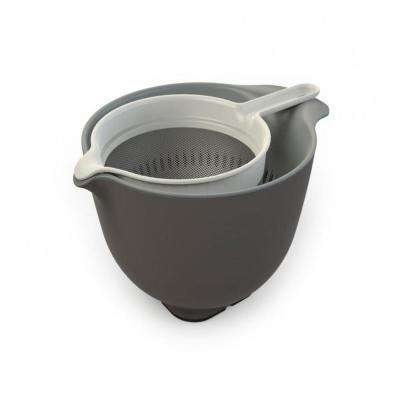 3.5 l Mixing Bowl, Colander and Sieve Set