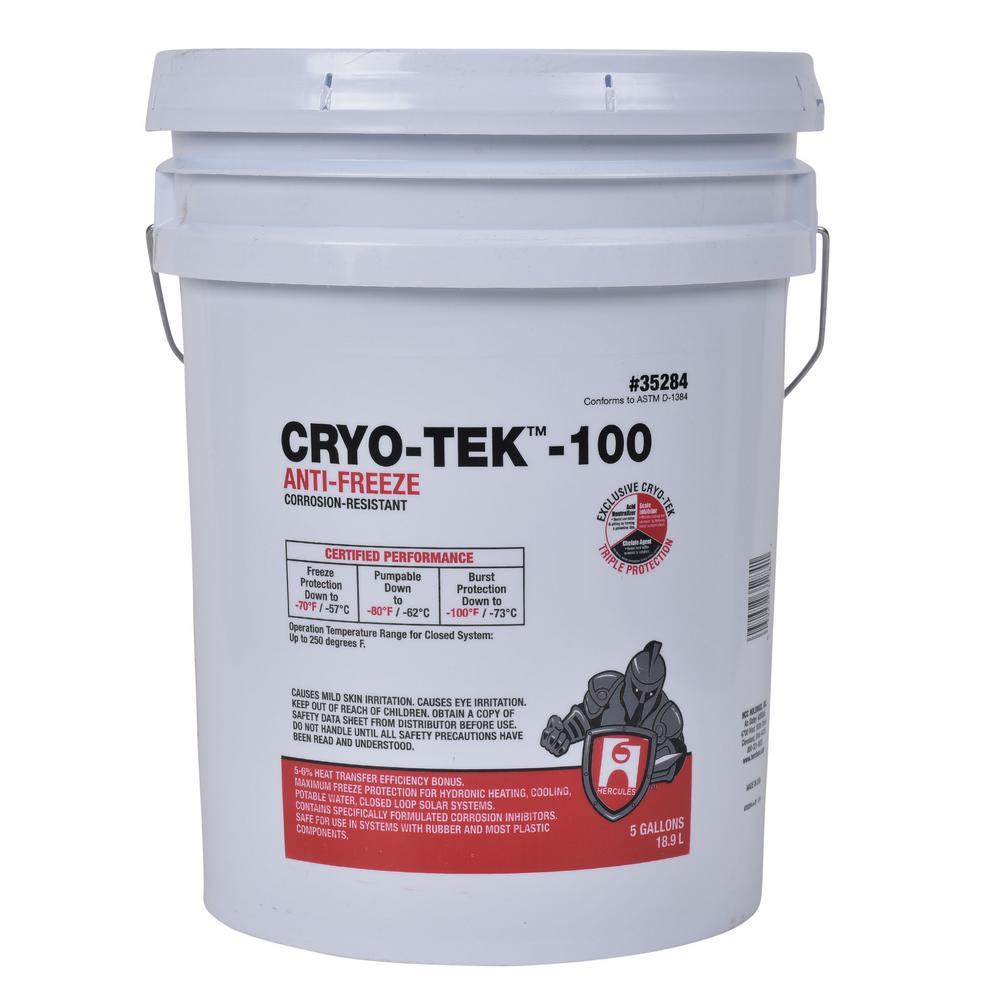Cryo-Tek 5 gal. Non-Toxic Corrosion-Resistant Antifreeze