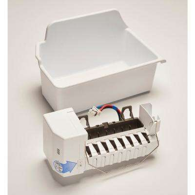 2.2 lbs. Built-in Icemaker in White