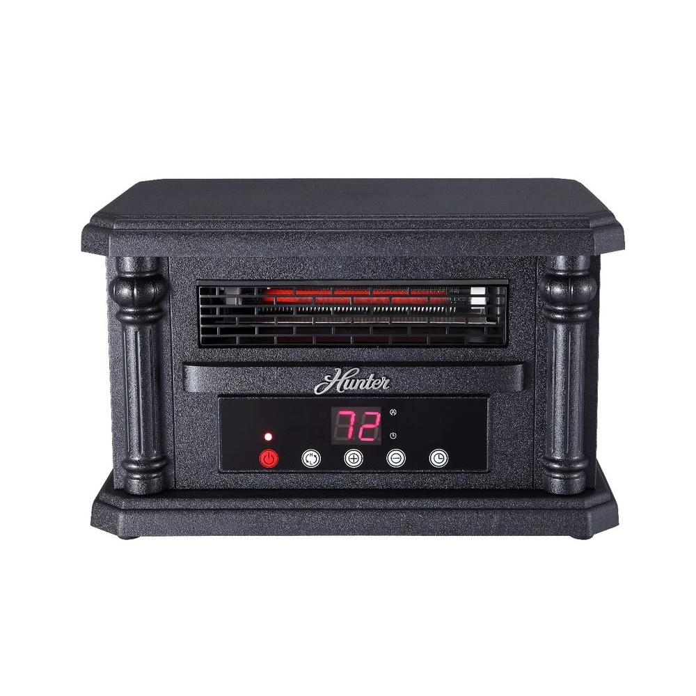 1500-Watt Tabletop Quartz Infrared Heater with Remote Control