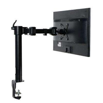 Desk Mounts LCD Stand Computer Monitor Arm Fits 10 in. - 27 in. LCD Screens with Clamp Support 22 lbs.