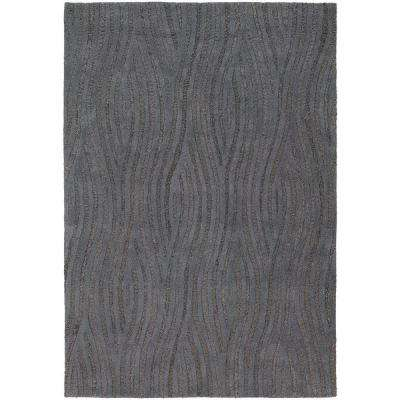 Penelope Brown/Grey 8 ft. x 11 ft. Indoor Area Rug