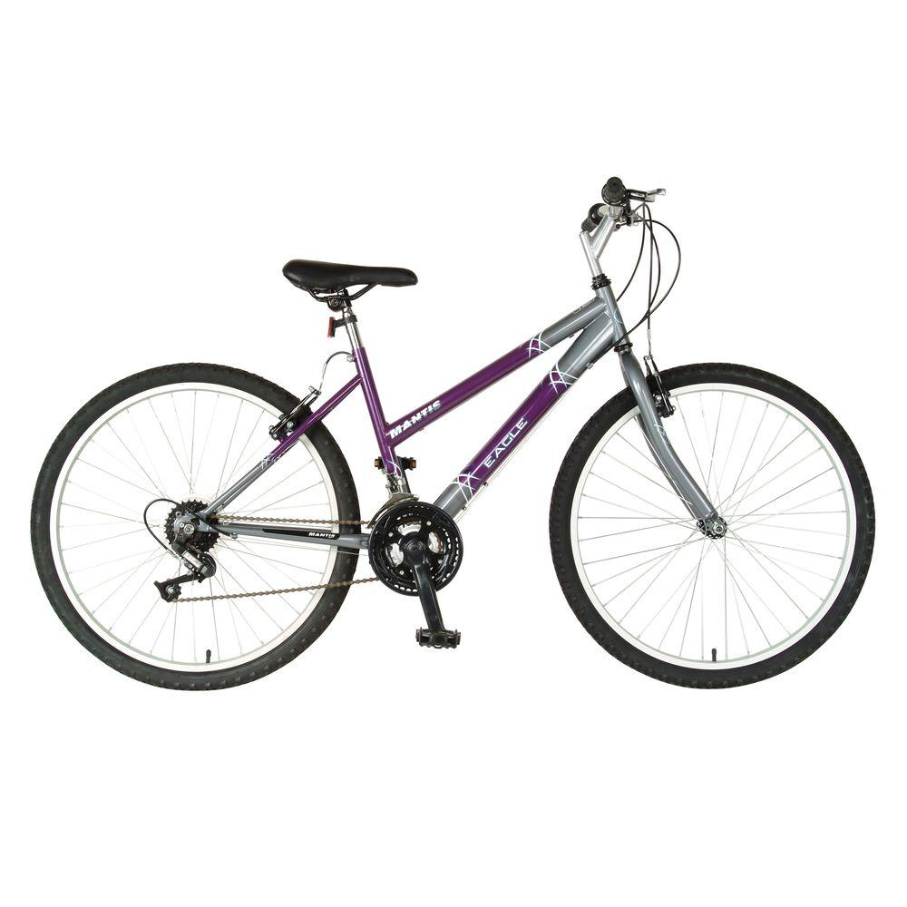 Mantis Eagle F 26 in. Ladies' Bike, Purples/Lavenders