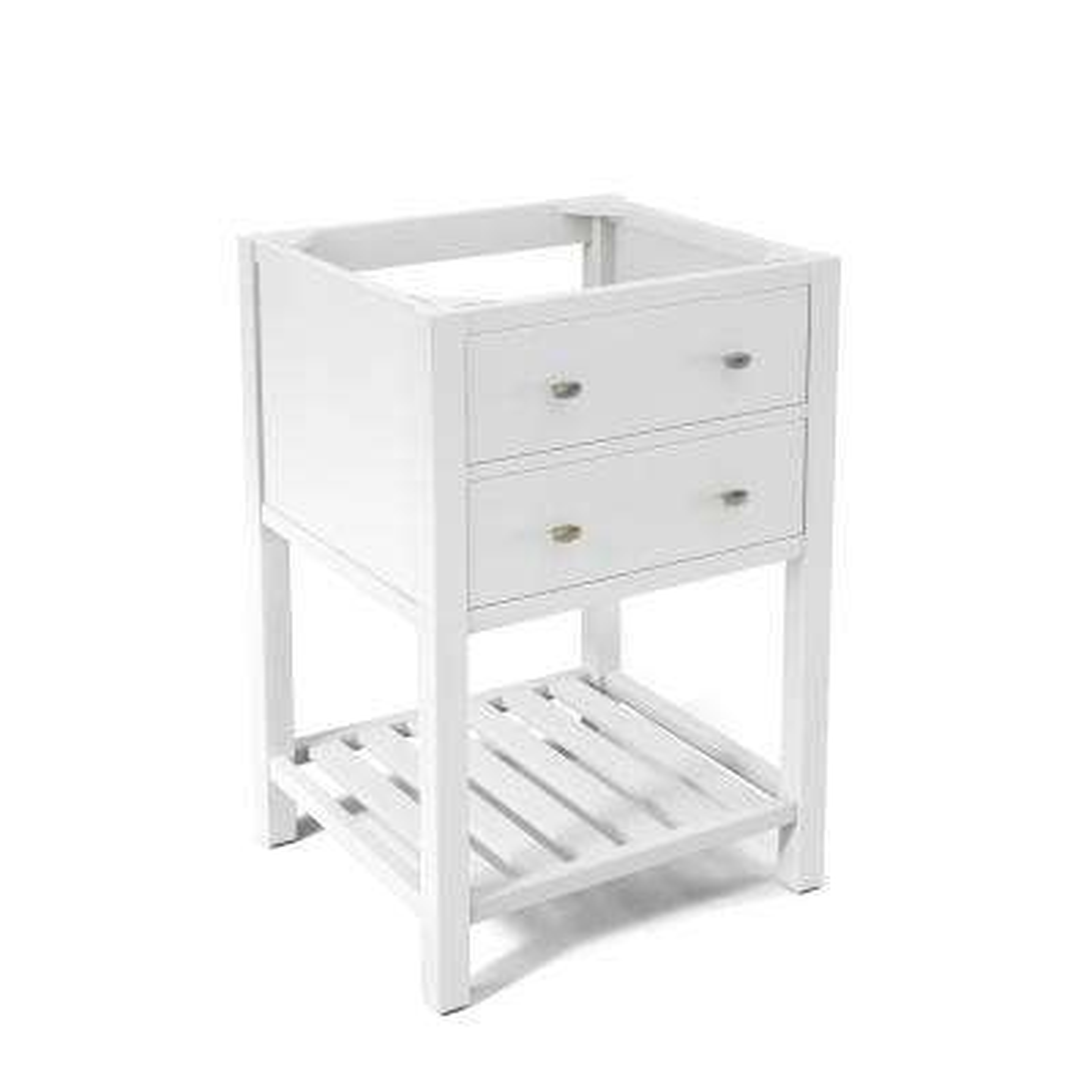 Harrison 23 in. W x 21 in. D Vanity Cabinet in White