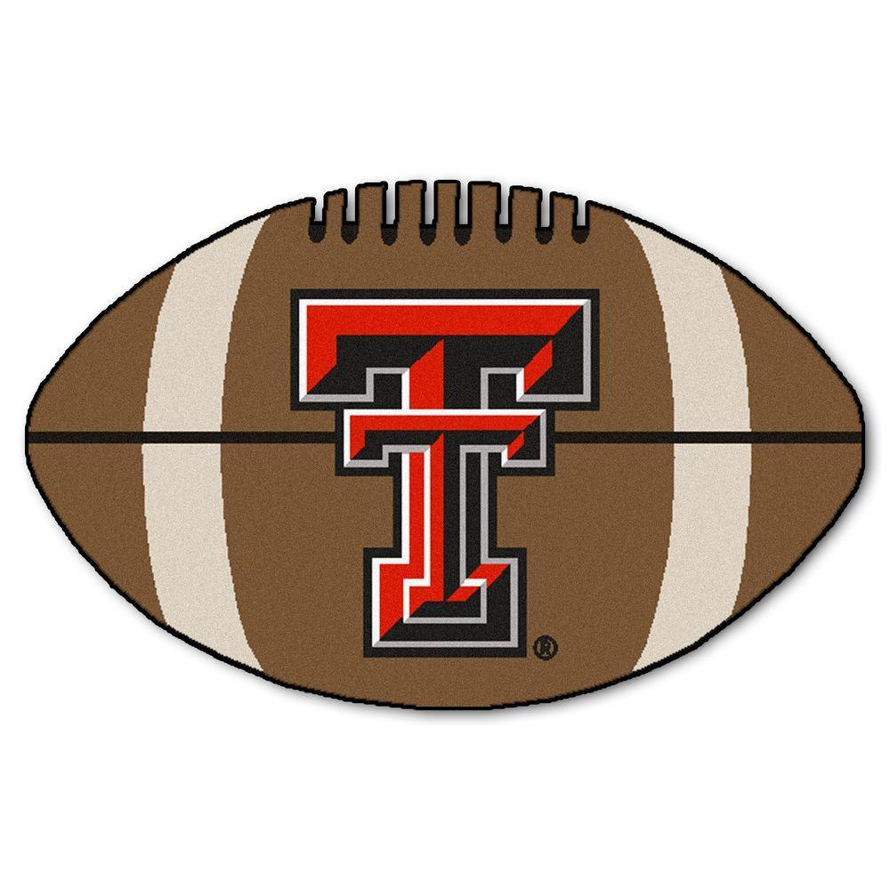 Texas Tech University Logo Area Rug