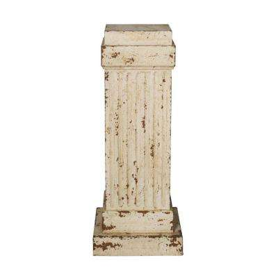 17 in. W Apollo Cream Pedestal