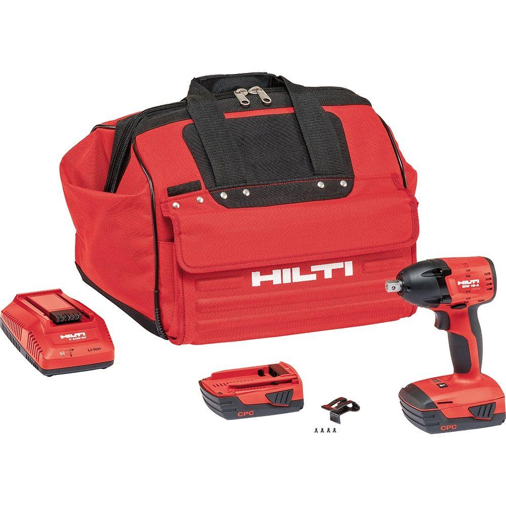 Hilti SIW 18-Volt Lithium-Ion 1/2 in. Cordless Compact Impact Wrench
