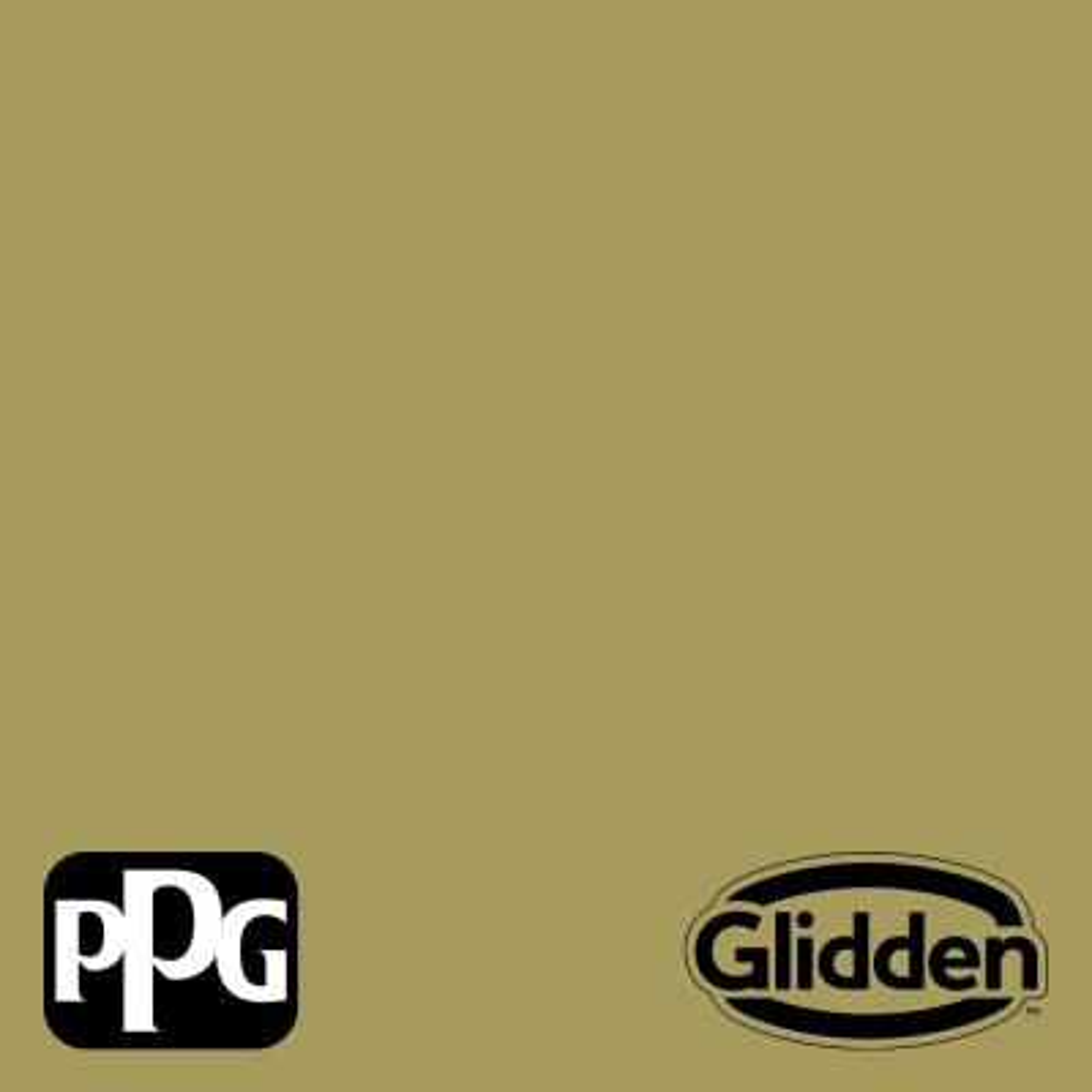 Glidden Essentials 1 gal. PPG1116-6 Loveliest Leaves Flat Exterior Paint