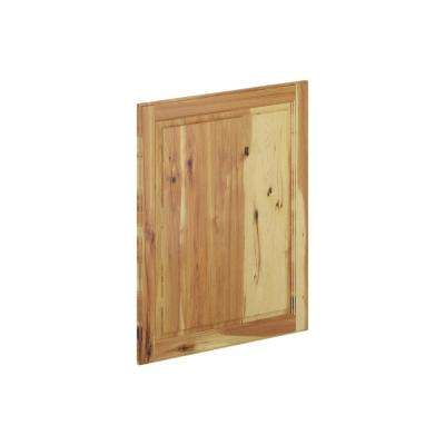 24 in. x 30 in. x 0.75 in. Madison Wall Deco End Panel in Hickory