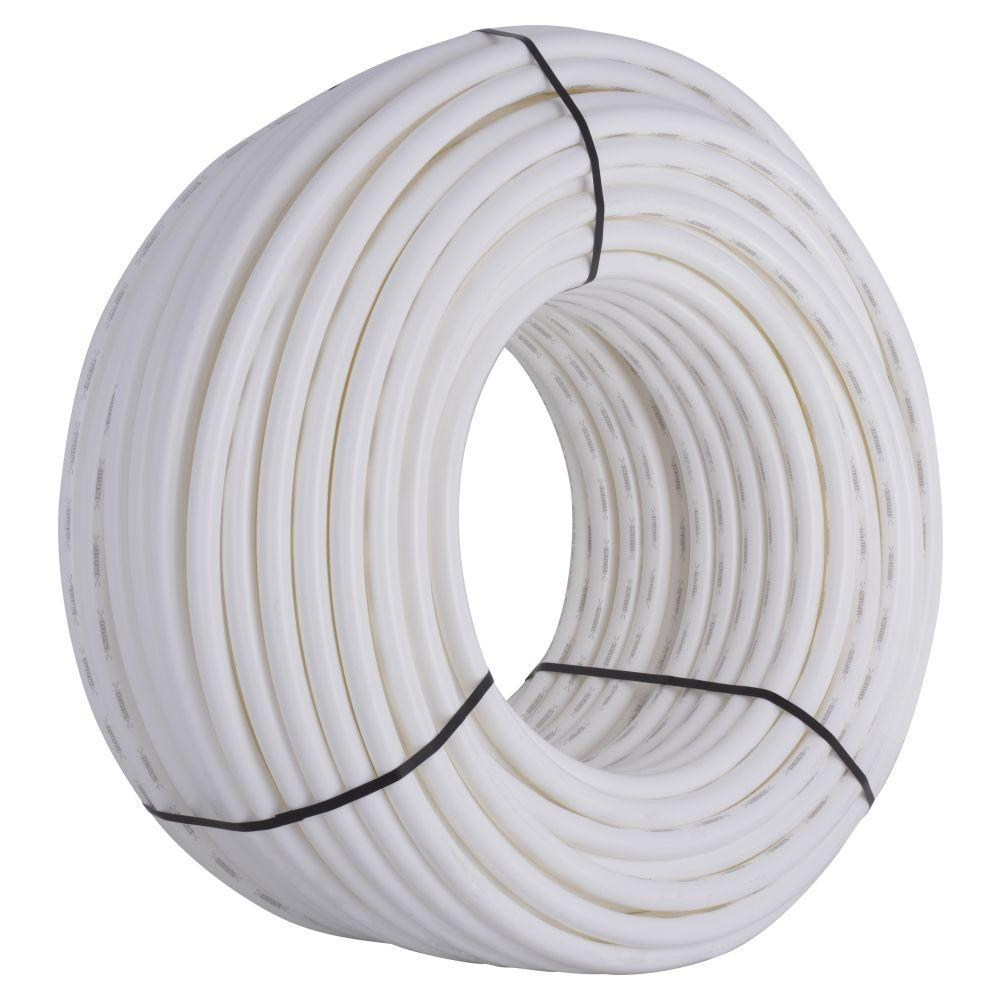 SharkBite 1 in. x 500 ft. White PEX Pipe-U880W500 - The Home Depot