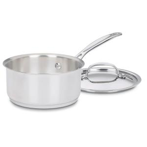 Chef's Classic 1 Qt. Stainless Steel Saucepan