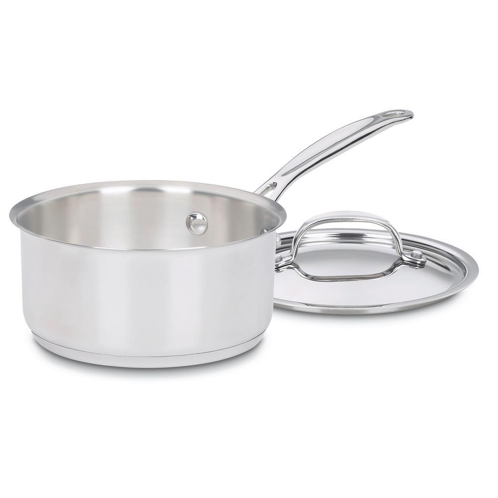 Cuisinart Chef's Classic 1 Qt. Stainless Steel Saucepan