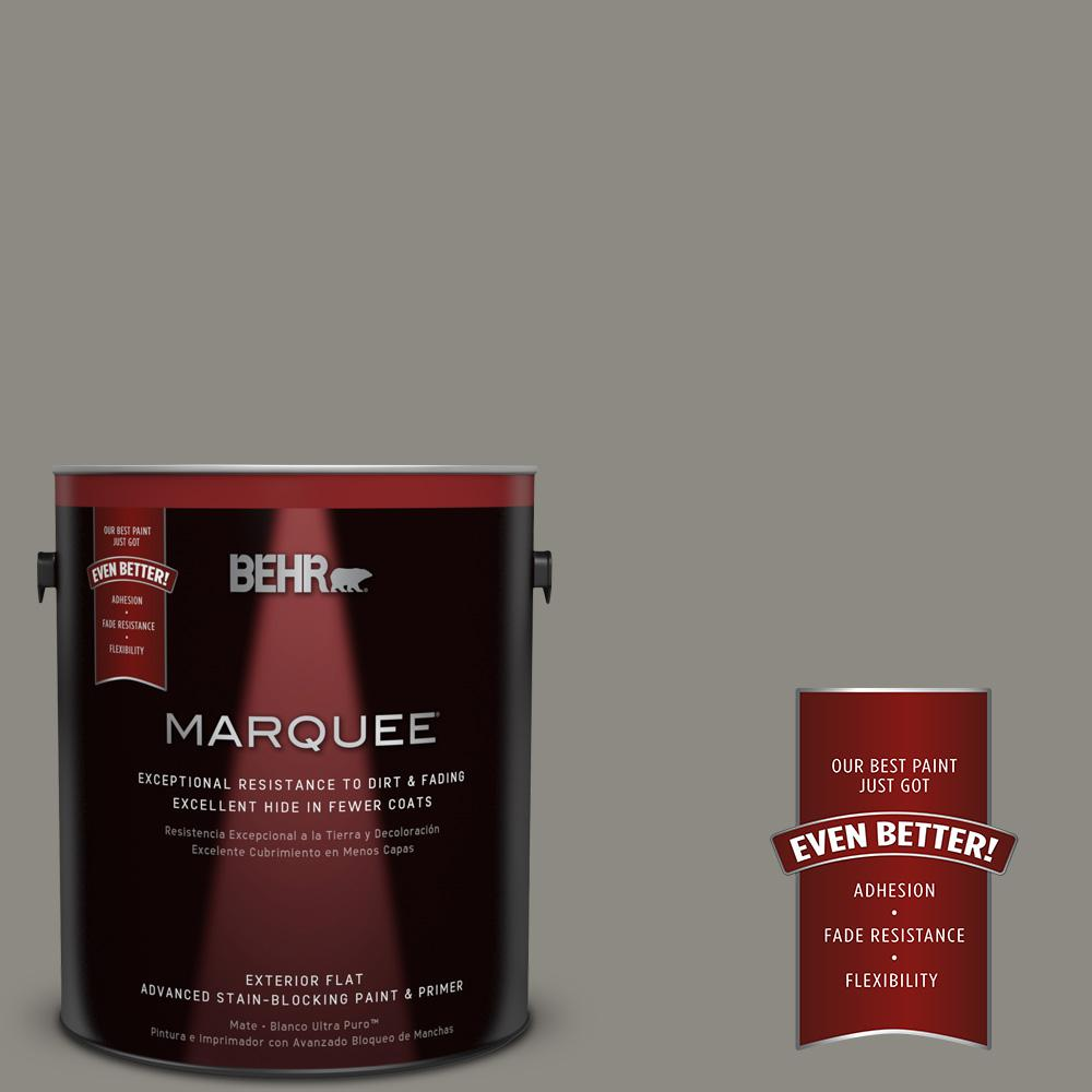 1 gal. #BXC-55 Concrete Sidewalk Flat Exterior Paint and Primer in