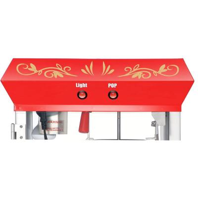 Foundation 6 oz. Red Hot Oil Popcorn Machine with Cart