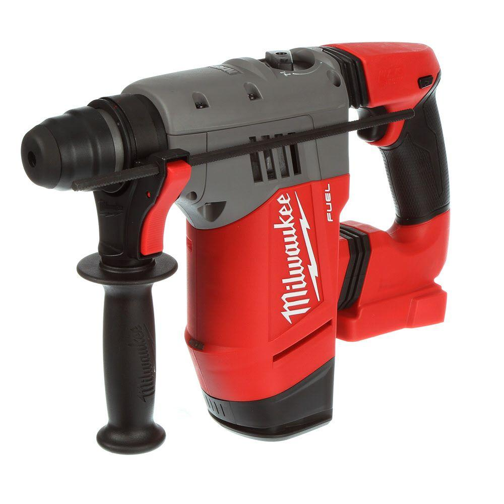 Milwaukee M18 FUEL 18-Volt Cordless Lithium-Ion Brushless 1-1/8 in. SDS-Plus Rotary Hammer (Tool Only)