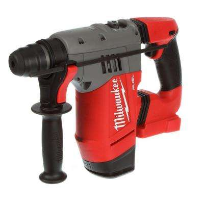 M18 FUEL 18-Volt Cordless Lithium-Ion Brushless 1-1/8 in. SDS-Plus Rotary Hammer (Tool Only)