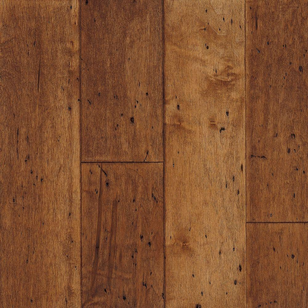 Brazilian teak prefinished engineered wood flooring, sample.