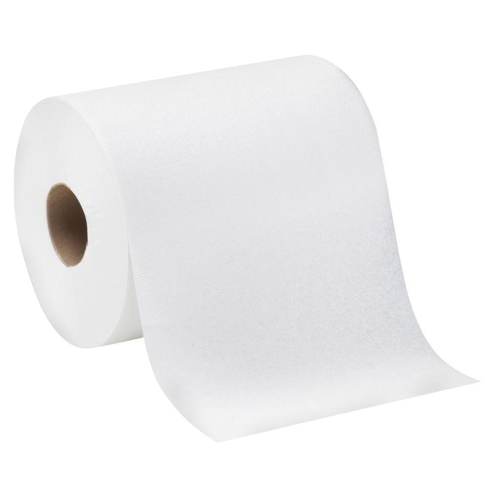 SofPull White Premium 1-Ply Regular Capacity Center Pull Paper Towels (350