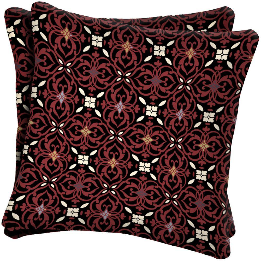 Arden Emerson Port Outdoor Throw Pillow (2-Pack)-DISCONTINUED