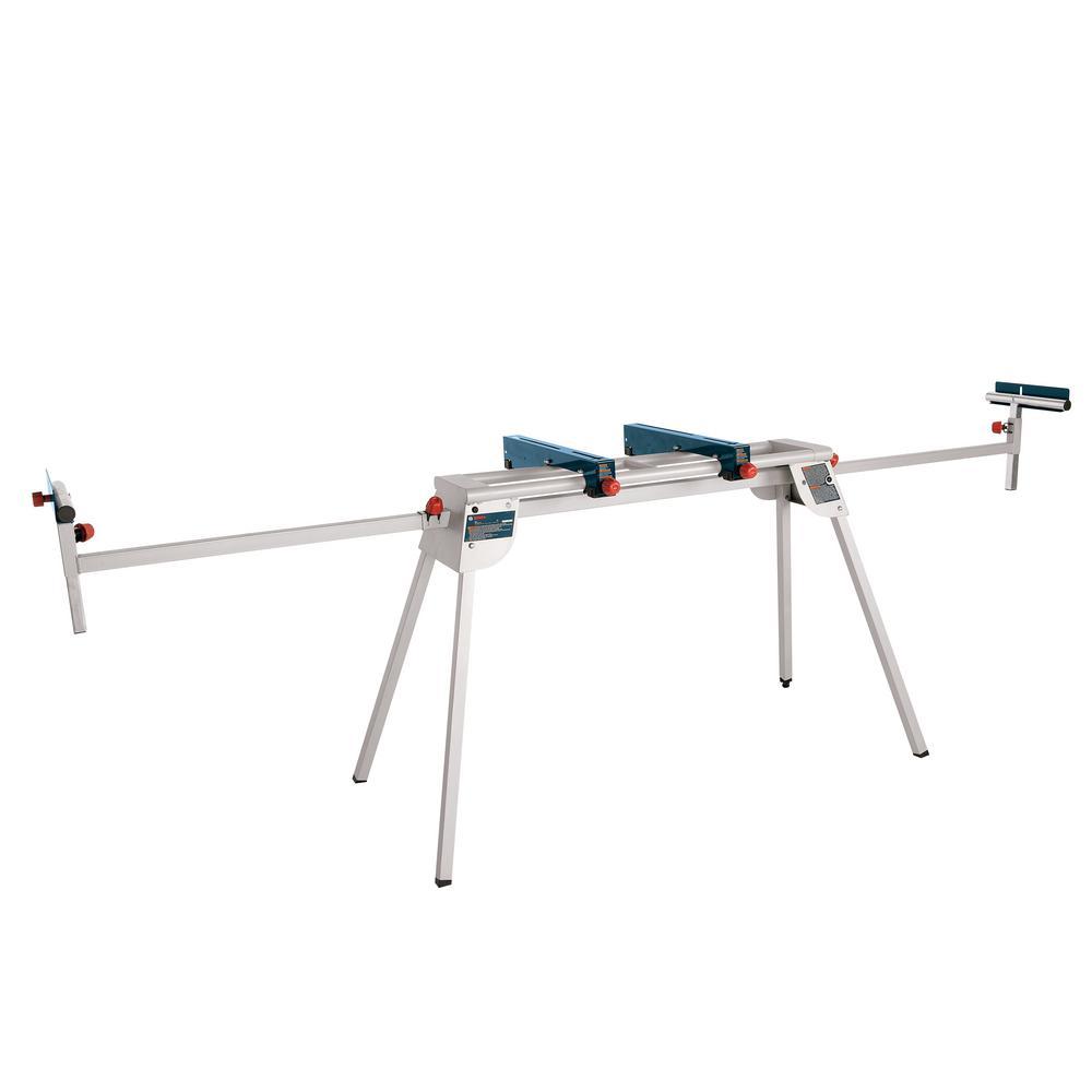 Folding-Leg Miter Saw Stand