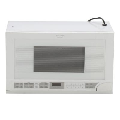 1.5 cu. ft. Over the Counter Microwave in White with Sensor Cooking
