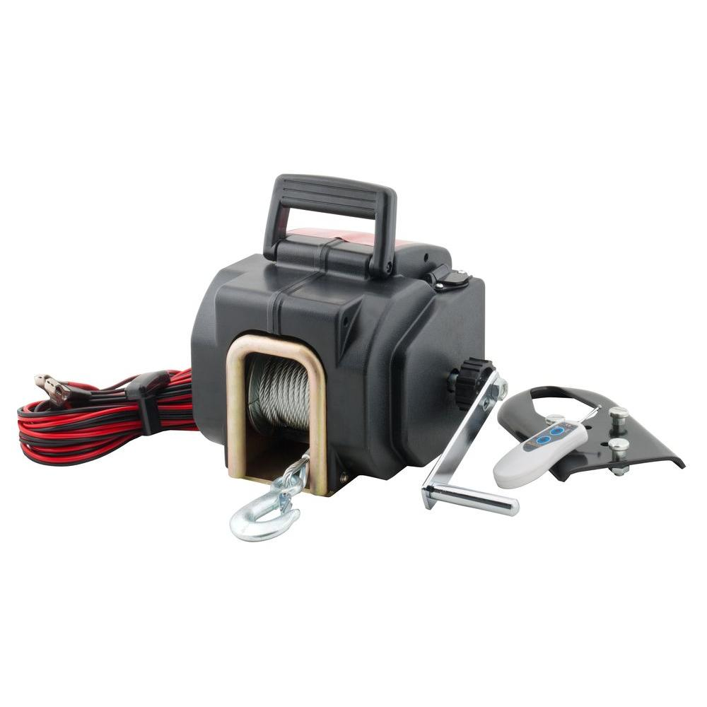 Pro-Lift Products Remote Controlled 3500 lb. Electric Winch
