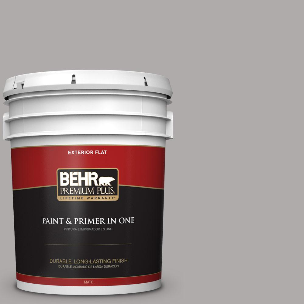 5 gal. #PPU18-14 Cathedral Gray Flat Exterior Paint