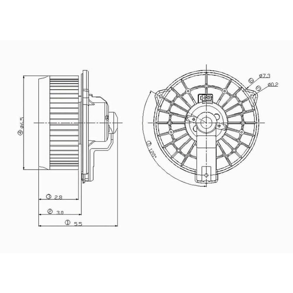 Furnace Blower Fan Motor Diagram Motor Repalcement Parts And Diagram