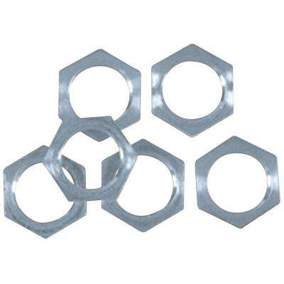 Steel Hex Nuts (6-Piece)