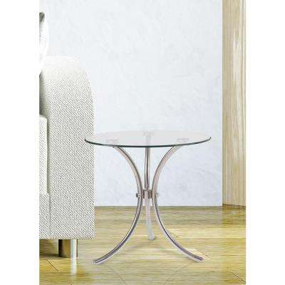 Trio Stainless Steel End Table