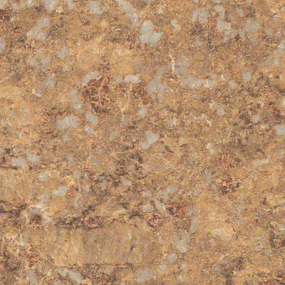 48 in. x 96 in. Laminate Sheet in Jeweled Coral with Premium Quarry Finish