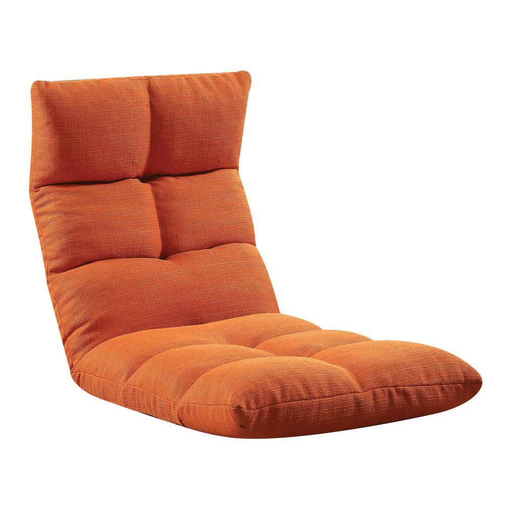 Tangerine Morris Gaming Floor Chair