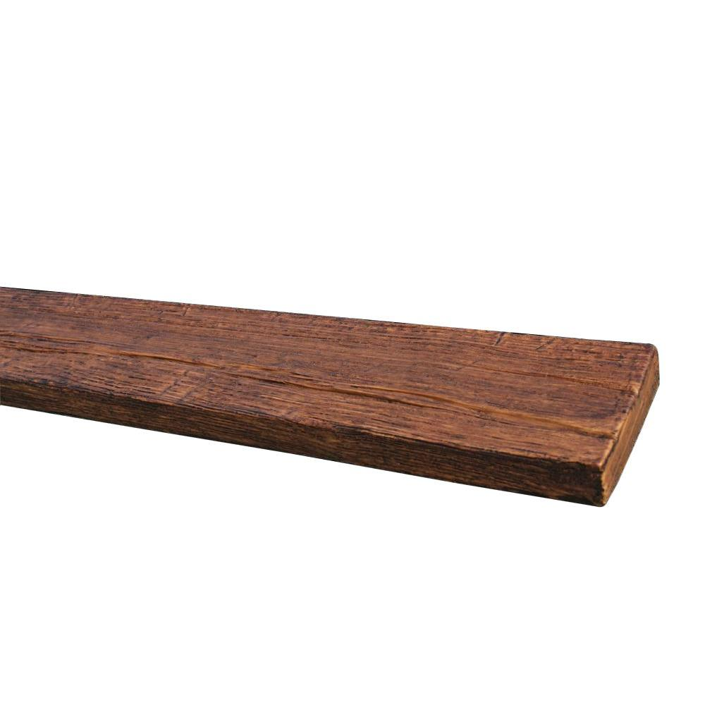 Superior Building Supplies 4-7/8 in. x 1 in. x 11 ft. 6 in. Faux Wood Plank