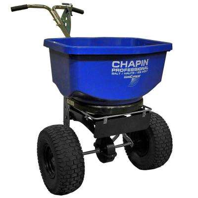 100 lbs. Professional Salt and Ice Spreader