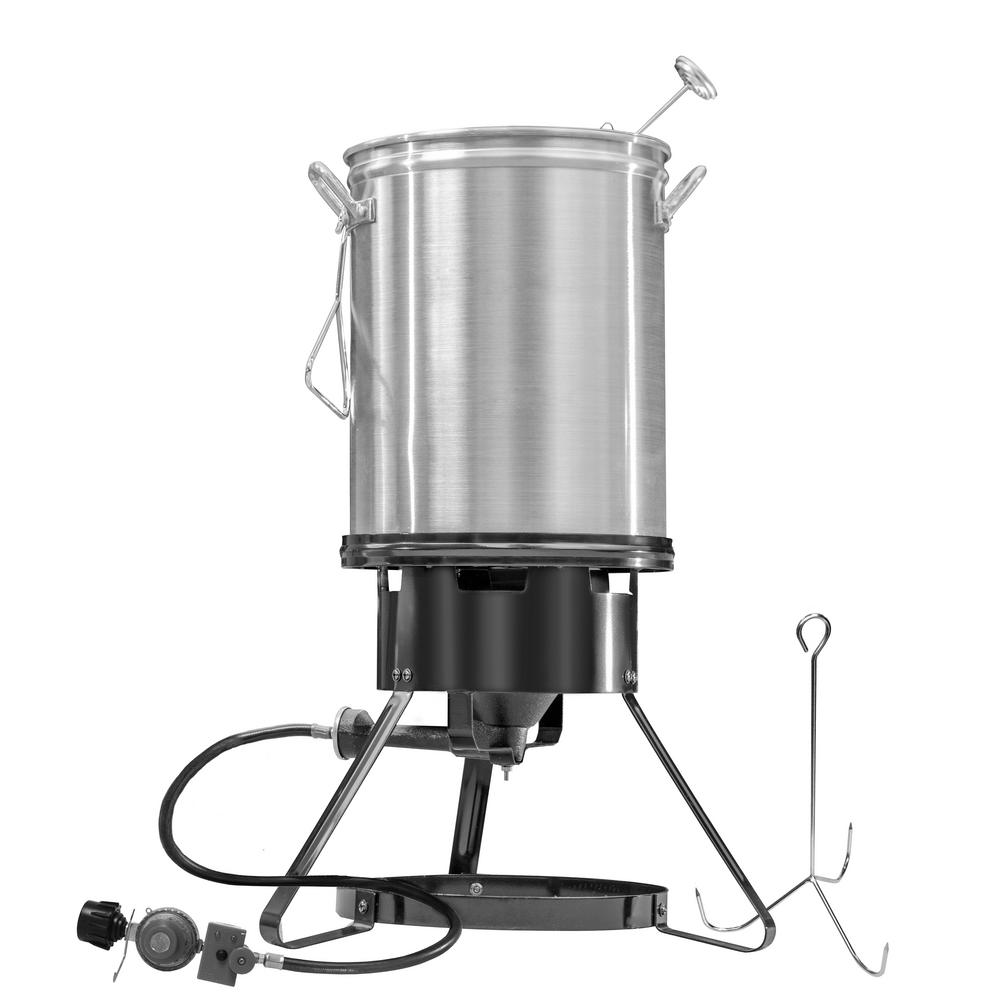 Masterbuilt MPF 130B 30-Quart Propane Turkey Fryer